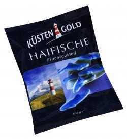 K�stengold Haifische Fruchtgummi  (300 g) - 4000512532019
