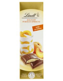 Lindt Joghurt Pfirsich-Aprikose Vollmilch  (100 g) - 4000539033407