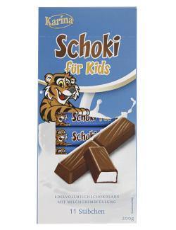 Karina Schoki F�r Kids Schokoriegel  (200 g) - 4000411014357