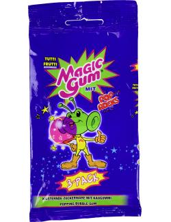 Magic Gum Tutti Frutti mit Pop Rocks  (21 g) - 8410576123454
