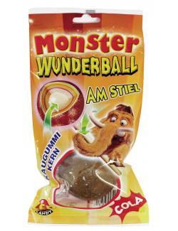 Monster Wunderball am Stiel Cola  (80 g) - 5011061191557