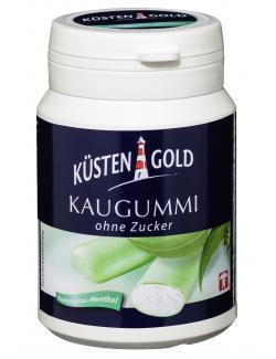 Küstengold Kaugummi Eukalyptus-Menthol ohne Zucker  (67 g) - 4250426205206
