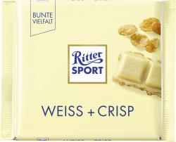 Ritter Sport Bunte Vielfalt Weiss + Crisp  (100 g) - 4000417292001