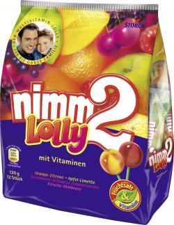 Nimm2 Lolly  (120 g) - 4014400916188