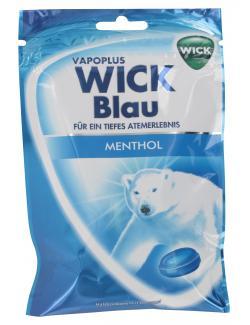 Wick Blau Halsbonbons mit Zucker  (72 g) - 4030300022019