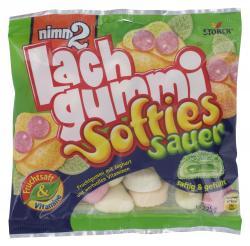 Nimm2 Lachgummi Softies sauer  (225 g) - 4014400916874