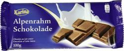 Karina Alpenrahm Schokolade  (100 g) - 4000411016207
