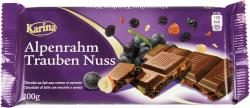 Karina Alpenrahm Trauben Nuss Schokolade  (100 g) - 4000411016238
