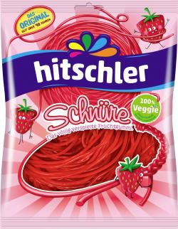 Hitschler Erdbeer Schnüre  (125 g) - 4003840008874
