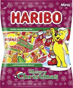Haribo Christmas Minis Fruchtgummi  (250 g) - 4001686805138