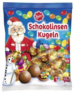 Friedel Schokolinsen Kugeln  (100 g) - 4008601190003