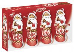 Kitkat Crisp Mini Weihnachtsmänner  (80 g) - 5998710934515