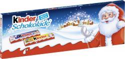 Kinder Schokolade Riegel Weihnachten  (150 g) - 4008400203829