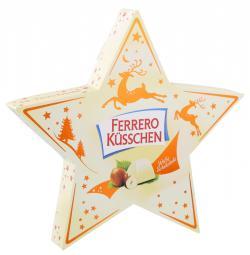 Ferrero Küsschen Stern weiße Schokolade  (124 g) - 4008400740225