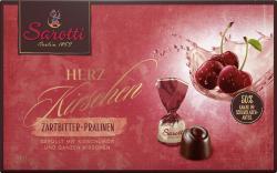Sarotti Herz Kirschen Zartbitter-Pralinen  (250 g) - 4030387004366