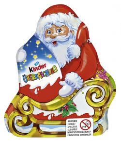 Kinder Weihnachtsmann mit Überraschung  (75 g) - 4008400510125