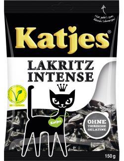 Katjes Lakritz Intense  (150 g) - 4037400410470