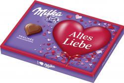 Milka I love Milka Pralin�s Nuss-Nougat  (110 g) - 7622210146038