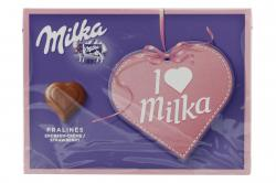 Milka Pralinés Erdbeer-Crème  (110 g) - 7622210146069