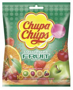 Chupa Chups Lollipops Fruit  (120 g) - 8410031996852