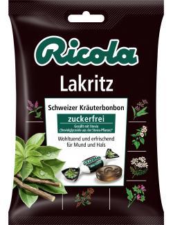 Ricola Lakritz zuckerfrei  (75 g) - 7610700945759