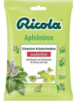 Ricola Apfelminze zuckerfrei  (75 g) - 7610700945834