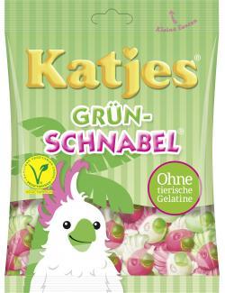Katjes Gr�n-Schnabel  (200 g) - 4037400431635
