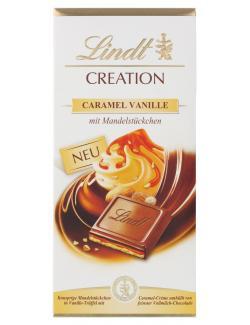 Lindt Creation Caramel Vanille  (150 g) - 4000539103001