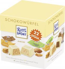 Ritter Sport Schokowürfel weiss  (192 g) - 4000417650207