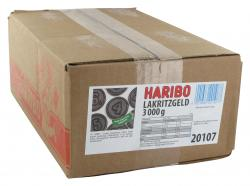 Haribo Lakritzgeld  (3 kg) - 4001686201077
