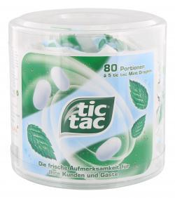 Tic Tac Mint Dragees  (80 x 8 St.) - 4003148701156