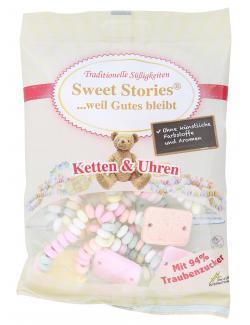 Sweet Stories Traubenzucker Ketten und Uhren  (102 g) - 4014437343216