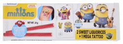 Minions Sweet Liquorices + Tattoo  (14 g) - 4895069068650