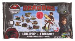 Dracco Candy Dragons Lollipop + Magnet  (5,70 g) - 4895069068742