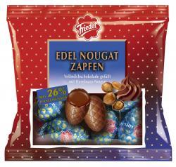Friedel Edel Nougat Zapfen  (100 g) - 4008601243815