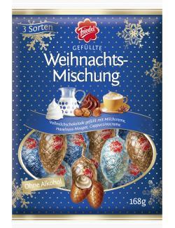 Friedel Gef�llte Weihnachts-Mischung ohne Alkohol  (168 g) - 4008601240432