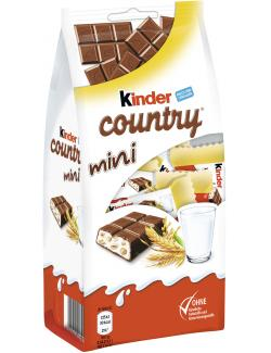 Kinder Country mini  (118 g) - 8000500196137