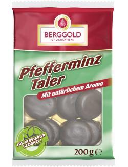Berggold Pfefferminztaler schokoliert  (200 g) - 4008468013477