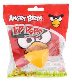 Angry Birds Lip Pops Lollipops  (23 g) - 8714786251038