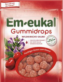 Em-eukal Gummidrops Wildkirsche-Salbei  (90 g) - 4009077031371