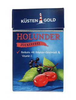 K�stengold Bonbons Holunder zuckerfrei  (50 g) - 4250426216196