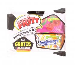 Fritt Doppel(s)pass Himbeer Orange + Fanschminke  (2 x 70 g) - 4000607517303