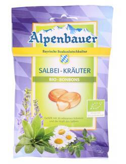 Alpenbauer Bio Bonbons Salbei-Kr�uter  (75 g) - 4054451200027