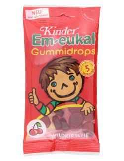 Em-eukal Kinder Gummidrops Wildkirsche  (75 g) - 4009077020856