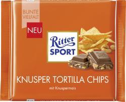 Ritter Sport Bunte Vielfalt Knusper Tortilla Chips  (100 g) - 4000417218001
