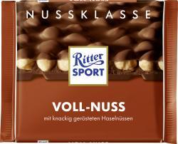 Ritter Sport Nussklasse Voll-Nuss  (100 g) - 4000417700001