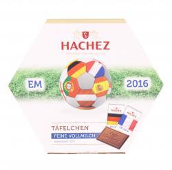 Hachez T�felchen EM 2016 feine Vollmilch  (165 g) - 4008155013063
