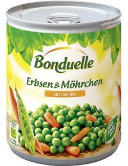 Bonduelle Erbsen mit Möhrchen zart und fein  (530 g) - 3083680003896