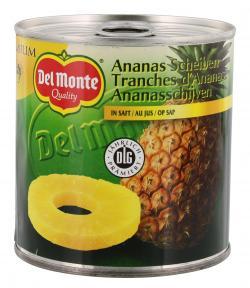 Del Monte Ananas Scheiben in Ananassaft  (260 g) - 24000001966