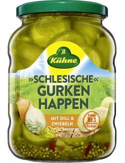 Kühne Schlesische Gurkenhappen mild-würzig  (360 g) - 40804552